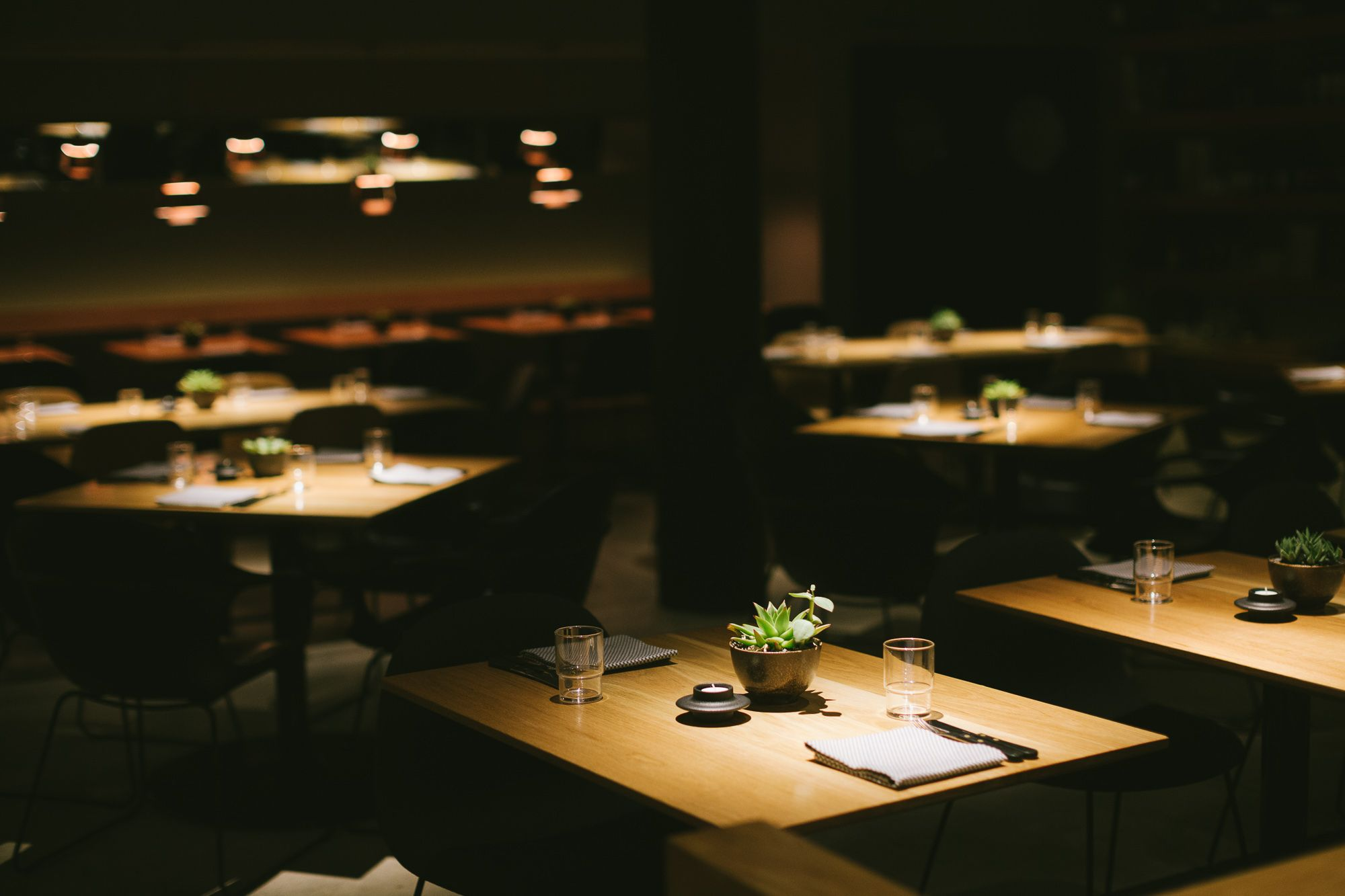 Cosme restaurant in NYC