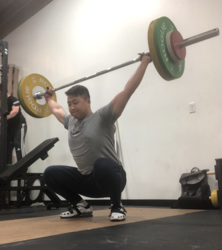 weightlifting/workout profile
