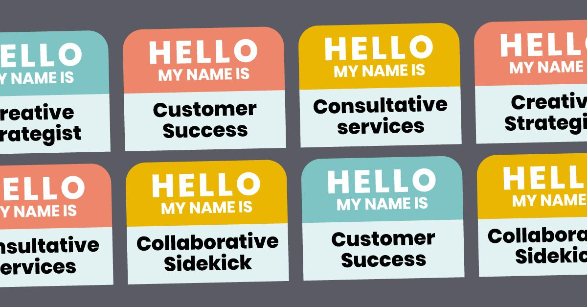 Hello, My Name Is [Customer Success] [Creative Strategist] [Consulting Services]